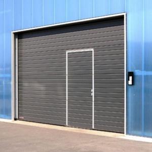 Фото 5 - Двустенные промышленные секционные ворота со стальными секциями SPU F42.